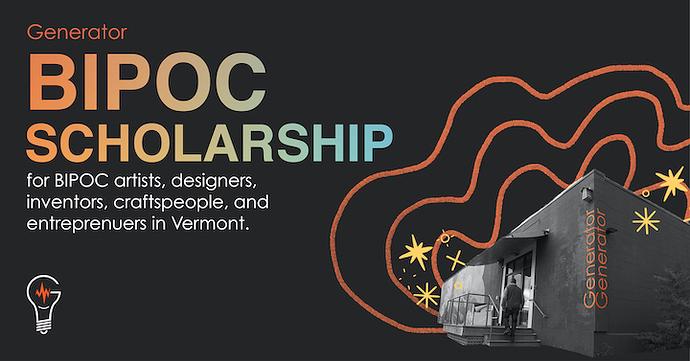 Generator_BIPOC Scholarship_Banner